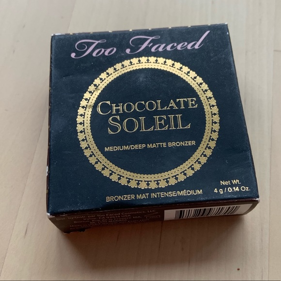 Too Faced Other - Brand New Too Faced Chocolate Soleil Bronzer